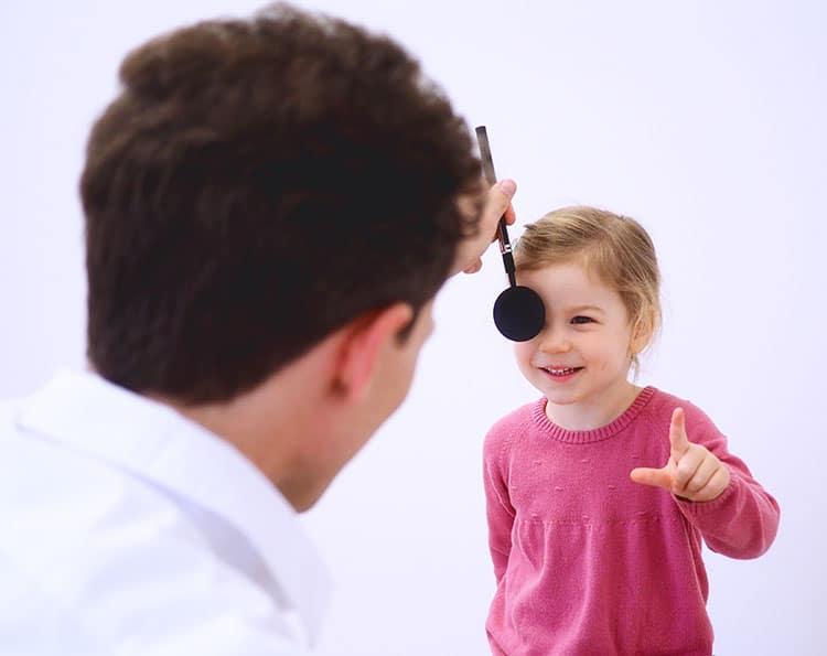 Augenarzt für Kinder