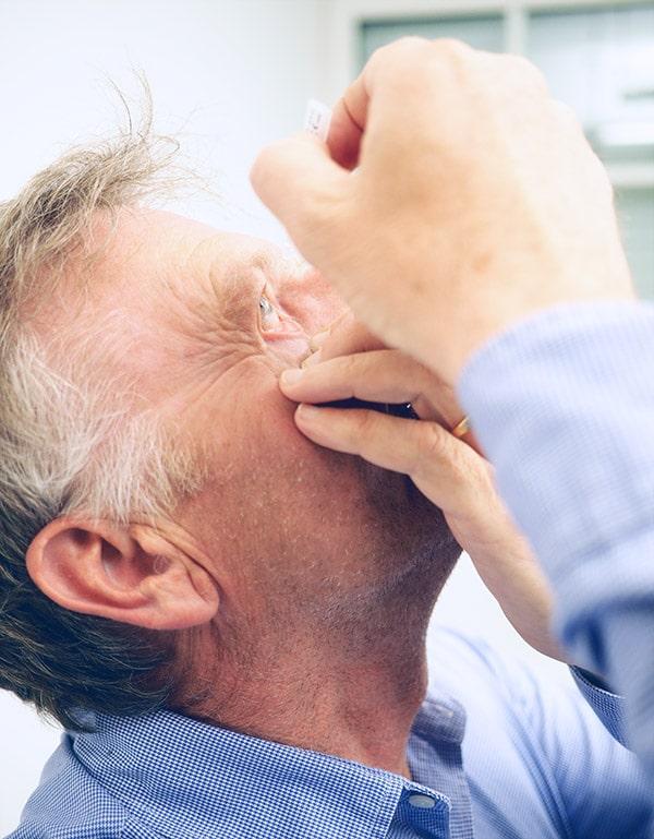 Glaukom behandeln